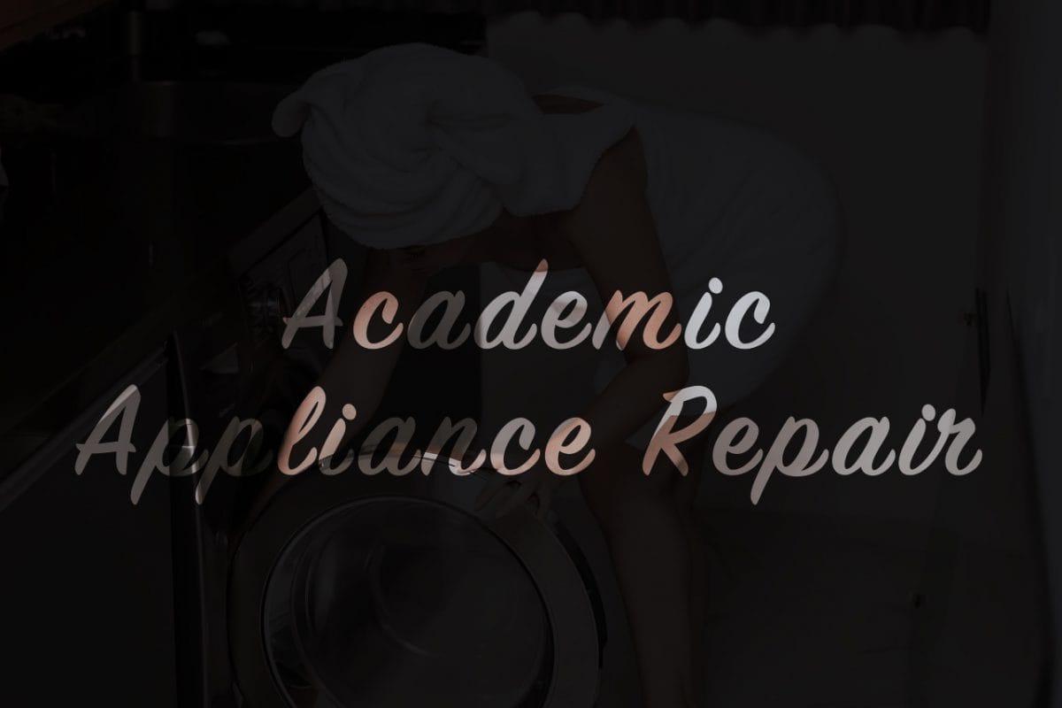 Pressure washer repair, washing machine repair | Academic Appliance Repair