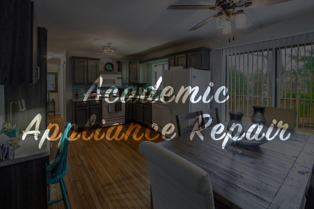 Washer Repair Service | Academic Appliance Repair Service