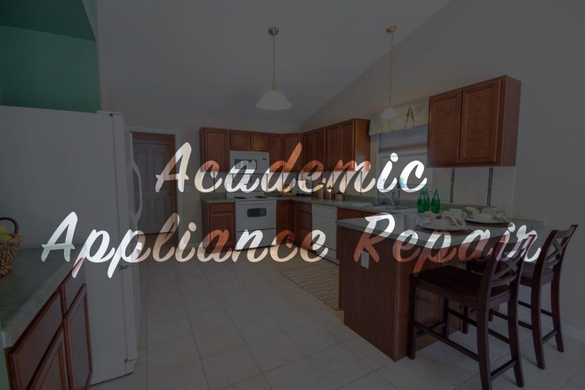kitchenaid dishwasher repair   Academic Appliance Repair Service
