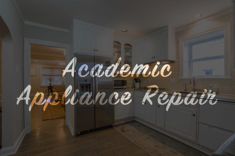 ice maker is not working, refrigerator ice maker repair | Academic Appliance Repair