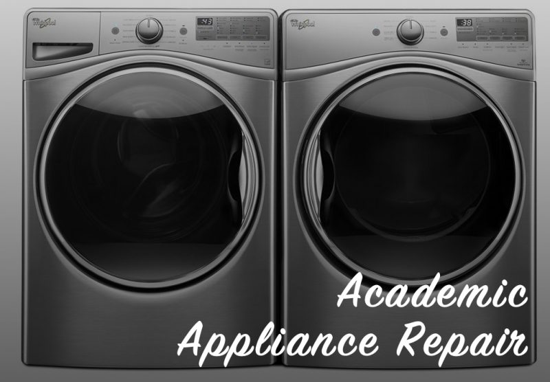 Fixing Whirlpool Duet Washer and Dryer Issues and Repair Work | Academic Appliance Repair
