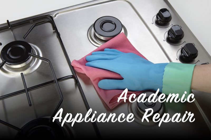 How to Clean a Cooktop | Academic Appliance Repair