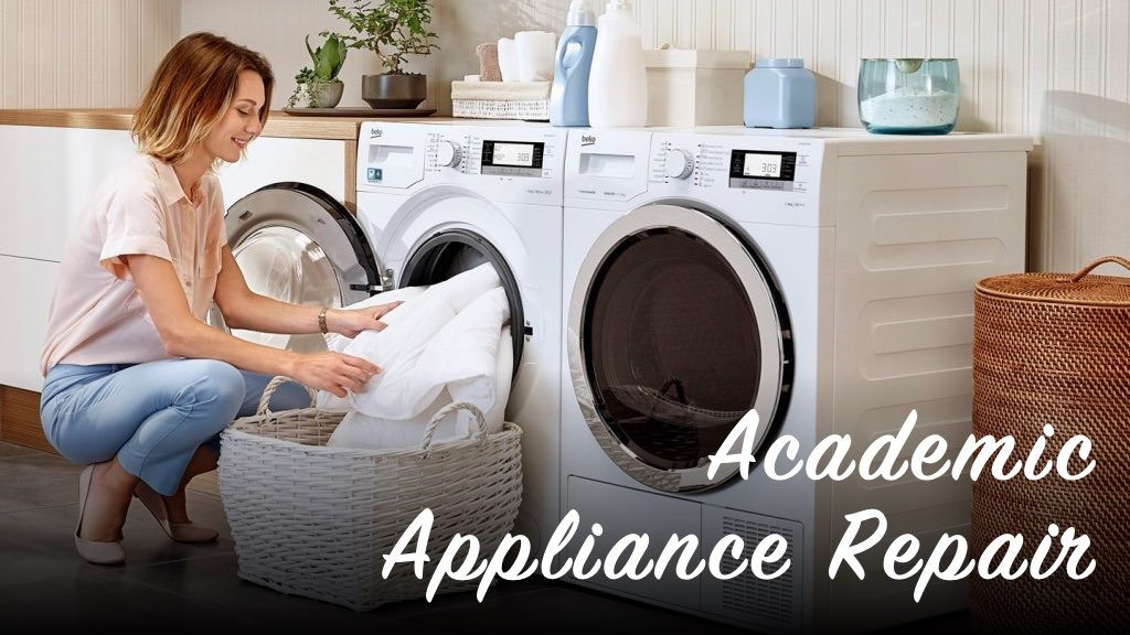 Washing Machine Maintenance Tips | Academic Appliance Repair